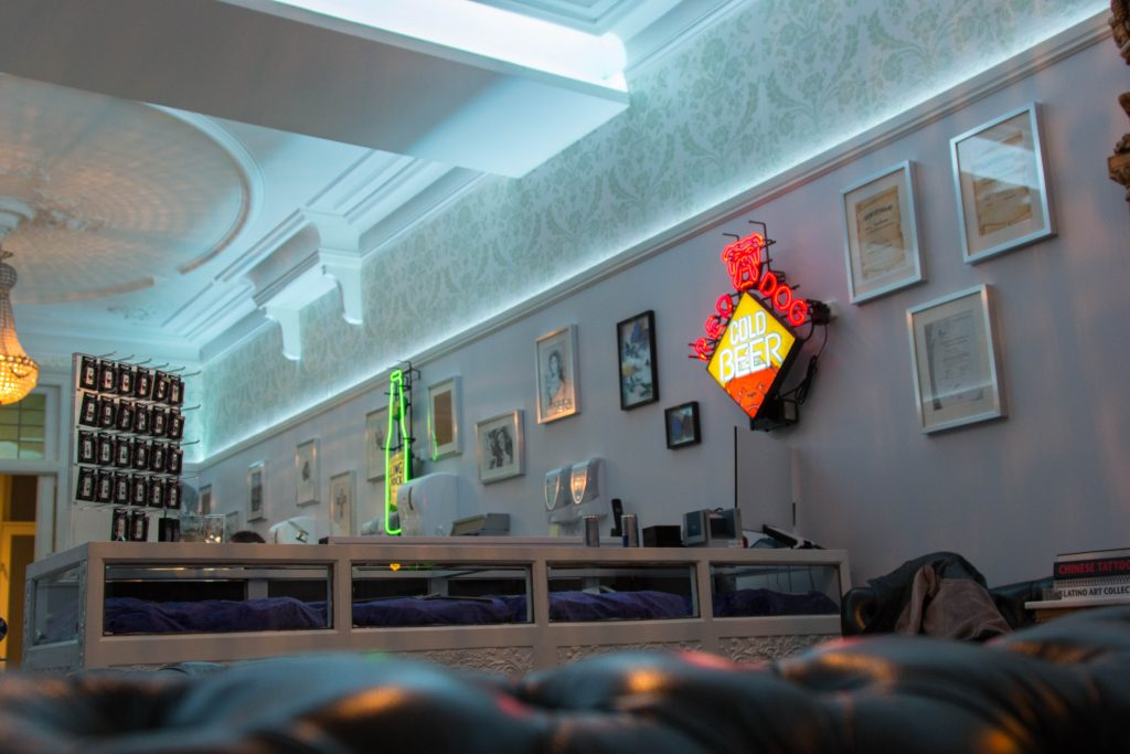 Tattoo Lounge Breda Led Design Holland