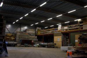 Bedrijfshal LED verlichting van LED Design Holland in Breda