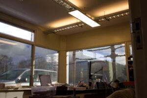 Kantoor LED verlichting LED panelen