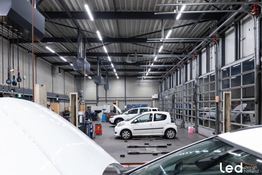 werkplaats verlichting